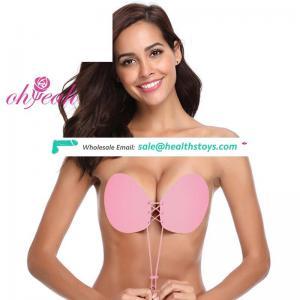 Latest Design In Stock Brasier De China  Strapless Women  Bra