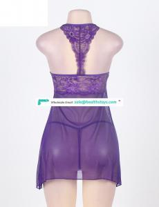 Latest Design Plus Size Lingerie Sexy Hot Transparent For Ladies