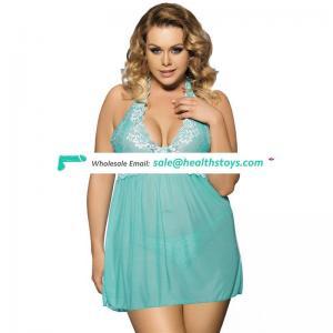 Latest design hot sale fashion girls sheer babydoll