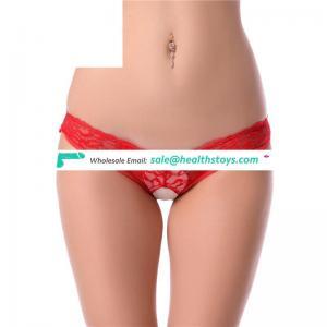 Latest design sexy hot girls in open crotch panties ladies underwear