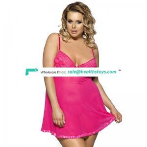 Latest women sexy lingerie plus size