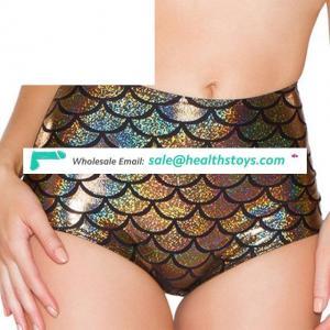 Lingerie Women High Waist Scale Mermaid Briefs Panties