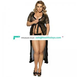 Long dress elegant glam night robe big ass women nude babydoll