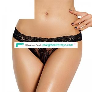 Low MOQ Private Label Micro Ladies Sexy Lace Thong
