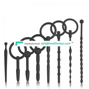 Male Urethral Dilators Sound Silicone Urethral Dilators Hollow Penis Plugs Catheters Stretching Sounds