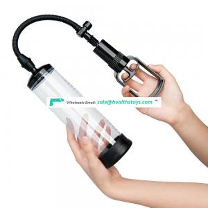 Manual Penis Vacuum Pump Air Pressure Device Enhancer  Easy Grip Pump Handle And  Durable Sleeve From China Factory