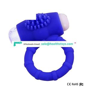 Medical Silicone Men Sex Products Delay Premature Ejaculation Lock Vibrating Cock Rings