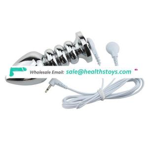 Medical Toys Kits Electric Shock Massagers Electro Shock Vagina Anal Plug Products Toys For Couples