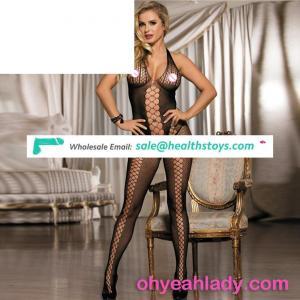 Mesh elastic tight china supplier lady fishnet bodystocking
