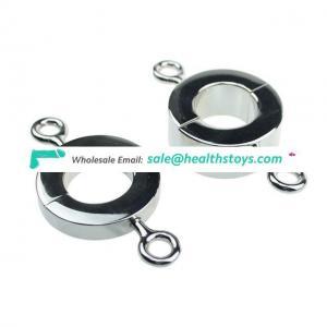 Metal Ball Stretchers Scrotum Pendant Testis Weight Restraint Lock Ring