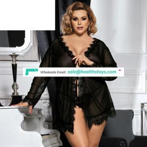 Mutare hot ladies transparent plus size sexy nighties