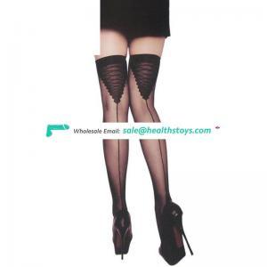 New Black Fashion Sexy Japan Silk Fancy Stocking Mature Pantyhose