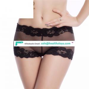 New Black Hot Sexy Transparent Ladies Underwear Panties For Women
