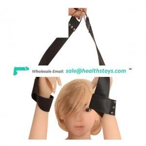 New Design Adjustable PU Leather Soft Handcuffs Anklet Bracelets