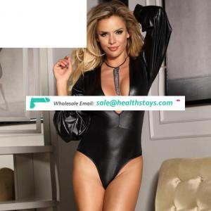 New Design Black Sexy Mature Women Hot Teddy Lingerie