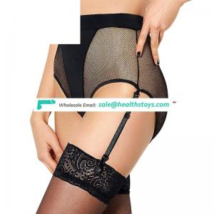 New Design Hot Wholesale High Waist Young Girl Wearing Garter Panty