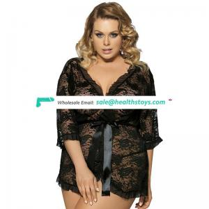New Style Wholesale Fashion Lingerie Sexy Plus Size Nighty Wear