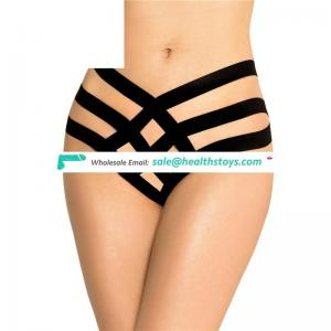 New arrival most popular g- string panty women open crotch thong