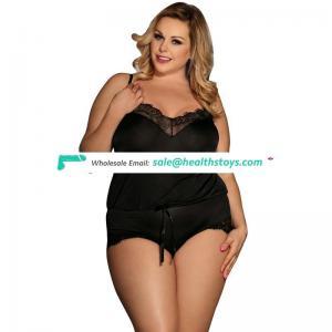 New arrival plus size lingerie sexy bodysuit women