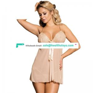 New arrival women sexy transparent nude sexy babydoll