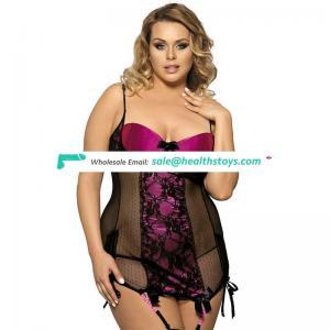 New model stylish designer mature women plus size lingerie