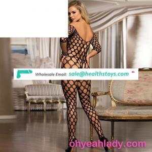 Nylon Women Nude Bodystocking