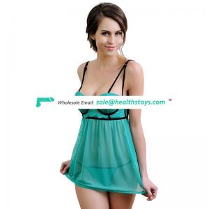 OEM paypal accept cheap good quality hot sexy girl night wear lingerie