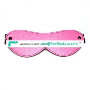 PU Eye Mask Blindfold Adult Games Flirt Toy Sleep Products