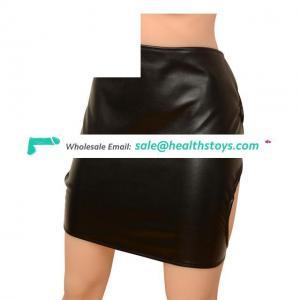 PU Leather Adjustable Fetish Harness Panties Tied underwear