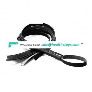 PU Leather Bondage Restraint Whip And Erotic Toys For Couples Spanking Paddle
