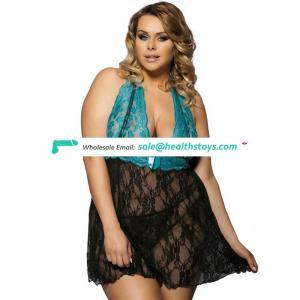 Plump Women Sexy Plus Size Nightwear Lingerie Manufacturer