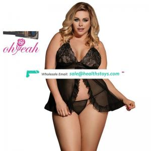 Plus Size Factory Price Top quality Hot Women Sex Sleep Dress Lingerie