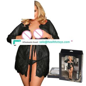 Plus Size Latest Design High quality Women Sexy Lace Babydoll