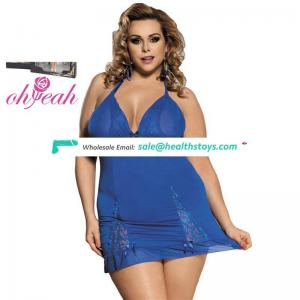 Plus Size Wholesales Hot Sexy Girls Night Lace Teddy Dress