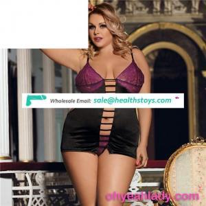 Plus size babydoll hot girls sexy women sleepwear