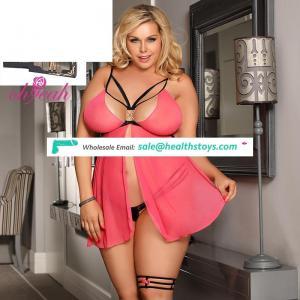 Plus size girls pink underwear women sexy lingerie