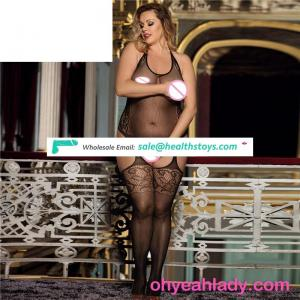 Plus size new arrival black full body stocking for fashion women