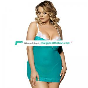 Plus size one piece hot lingerie sexy  lingerie for fat women