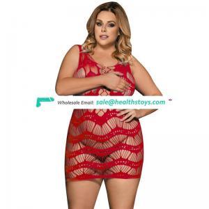 Plus size own factory wholesale women sexy lingerie bodystocking
