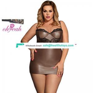 Plus size women lingerie sexy babydoll pajamas