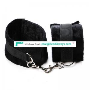 Plush Cross Handcuffs And Ankle Cuffs Bondage Restraints Kits Fetish Adult Games Toys for Couples