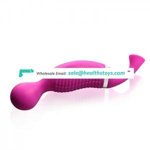 Popular japan Mini AV massager vibrator with suction sex adult toys for women tits clitoris