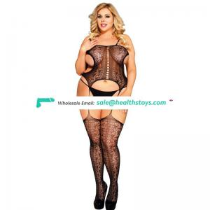 Private label plus size body stocking xxx