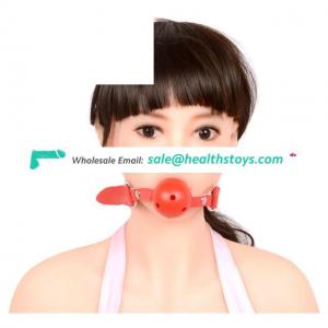 Pu Mouth Ball With Soft Mouth Gags Harness Bondage Toys