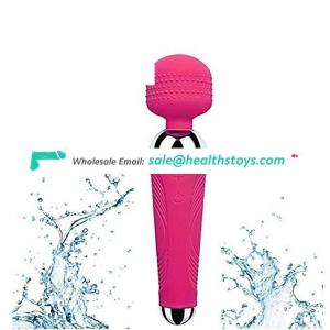 Rechargeable Handheld Personal Wand Massager 10 Speed Vibrator