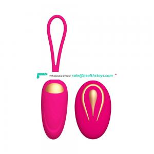 Rechargeable With Control Remote Massage Vibrating Eggs For Women