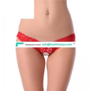 Red elastic tight high quality hot sexy modal lady panty