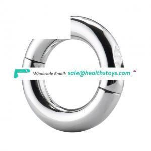 Round Metal Alloy Penis Cock Ring, Penis Loop For Men