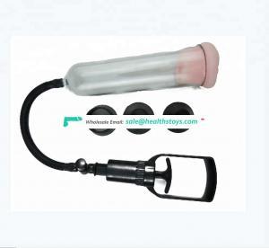 S size 2018 Manual dick Enlarger Pump Penis Enlargement Vacuum Pump For Man