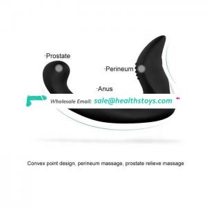 Sex Anal prostate massager vibrator for  man adult Silicone toy